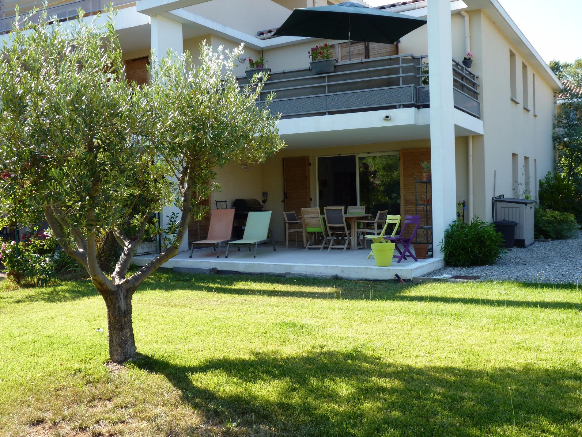 vente Bouc bel Air Magnifique appartement T3 en rez de jardin avec